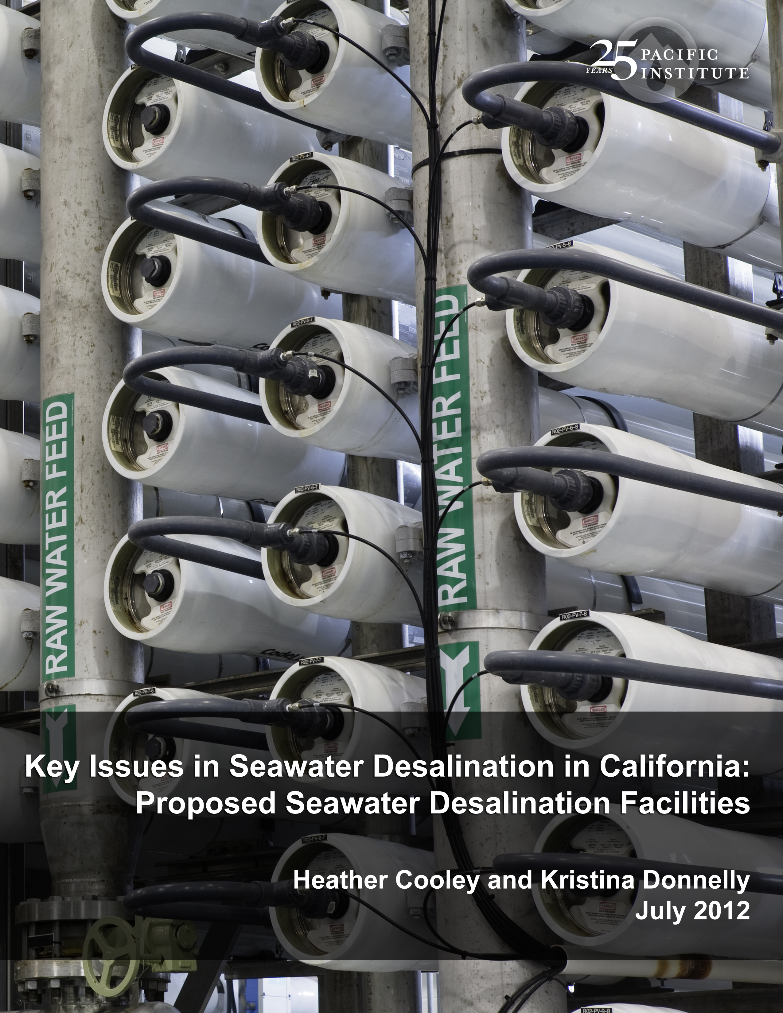 Existing and Proposed Seawater Desalination Plants in California