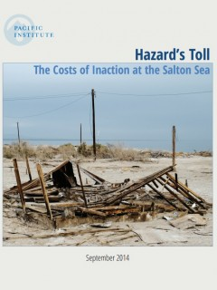 <a href=https://pacinst.org/publication/hazards-toll/>Hazard's Toll: The Costs of Inaction at the Salton Sea</a>