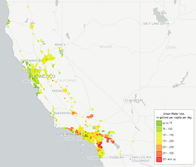 http://pacinst.org/publication/interactive-map-of-californias-urban-water-use/
