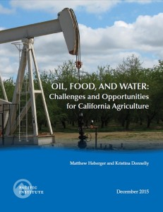 oil,food,water report cover image
