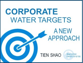 Corporate Water Targets: A New Approach