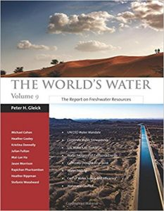 The World's Water, Volume 9 Keeps Water Challenges and Solutions Center Stage