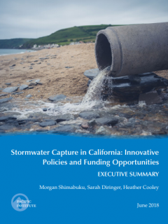 <a href=http://pacinst.org/publication/stormwater-capture-in-california/>Stormwater Capture in California: Innovative Policies and Funding Opportunities</a>