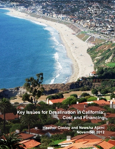 <a href=http://pacinst.org/publication/costs-and-financing-of-seawater-desalination-in-california/>Key Issues in Seawater Desalination in California: Costs and Financing</a>